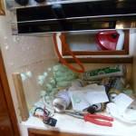 Kühlschrank ausschäumen