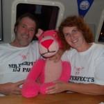 Hans und Bettina vom Katamaran Pink Panther