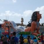 Meerjungfrauenwagen