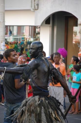 schwarzer Tänzer