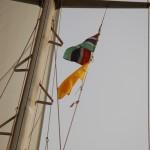 Gambia Flagge