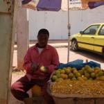 Afrikanischer Markt - Alltag in Afrika