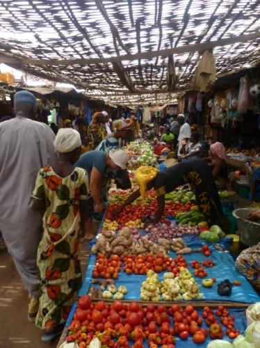 Markt in Basse