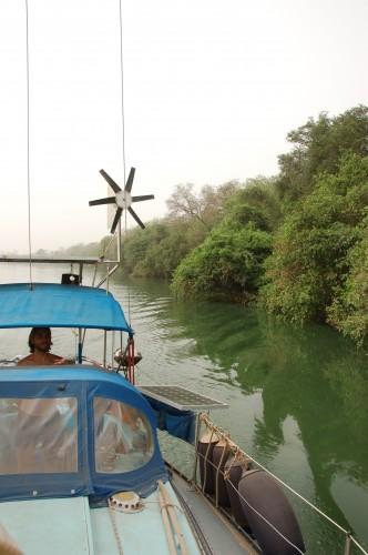 Gambia Flussfahrt