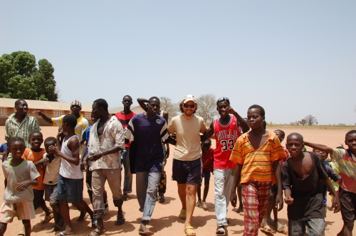 Gambia Menschenmenge