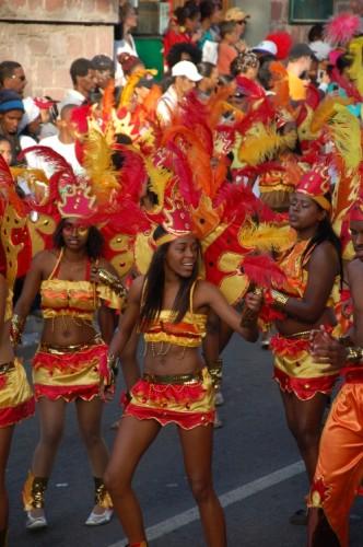 Kap Verde Tänzer