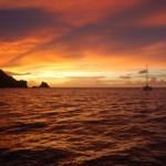 Tobago Sonnenuntergang