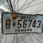 Nummerntafel fürs Fahrrad
