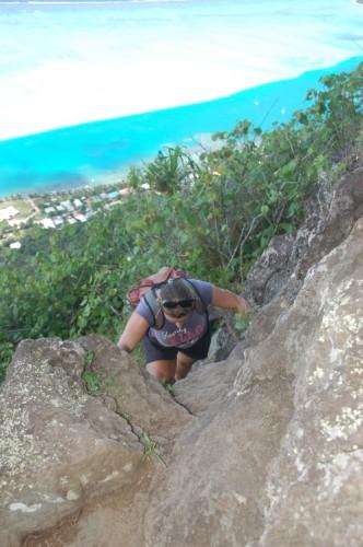 Bella klettern